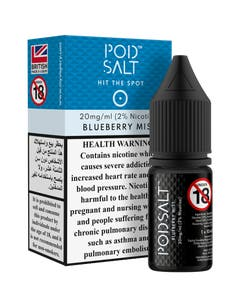 Pod Salt Core Blueberry Mist-20mg/ml-10ml