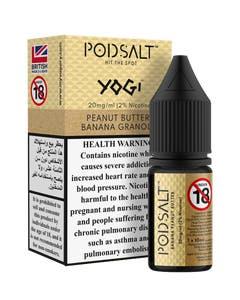 Pod Salt Fusion Yogi Peanut Butter Banana Granola-20mg/ml-10ml