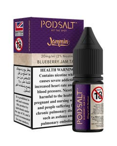 Pod Salt Fusion Jammin Blueberry Jam Tart-20mg/ml-10ml