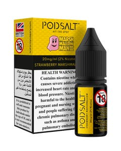 Pod Salt Fusion Marshmallow Man III -20mg/ml-10ml
