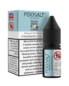 Pod Salt Fusion Pacha Mama Strawberry Kiwi Ice -20mg/ml-10ml