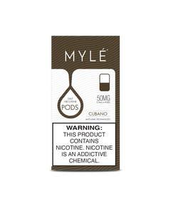 Myle V4 VGOD Cubano 4 x 0.9ml Pods - 50mg/ml
