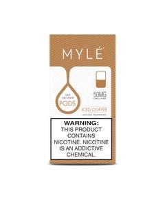 Myle V4 Iced Coffee 4 x 0.9ml Pods - 50mg/ml